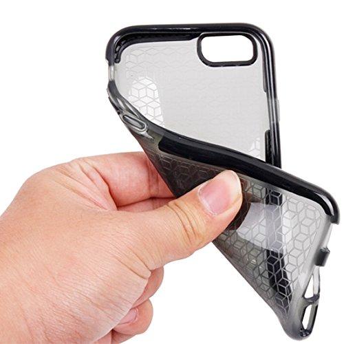 Phone Taschen & Schalen Für iPhone 6 Plus & 6s Plus Tridimensional Diamond Pattern TPU Schutzhülle ( Color : Black )