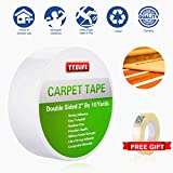 YYXLIFE-Double-Sided-Carpet-Tape-for-Area-Rugs-Carpet-Adhesive-Rug-Gripper-Removable-MultiPurpose-Rug-Tape-Clo