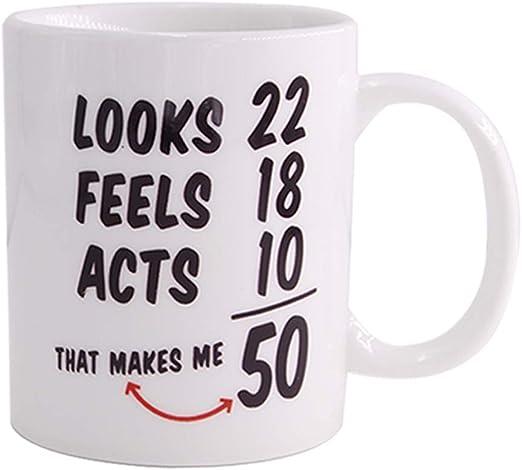 Amazon Com 1968 50th Birthday Gifts For Women And Men Coffee Mug