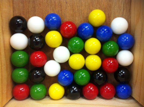 Colored Marbles For Probability Lesson : Mega marbles set of quot shooter solid colors