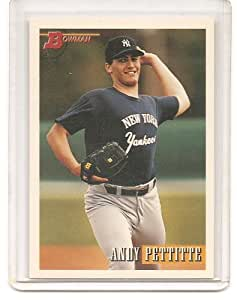 Andy Pettitte 1993 Bowman New York Yankees Rookie Card #103