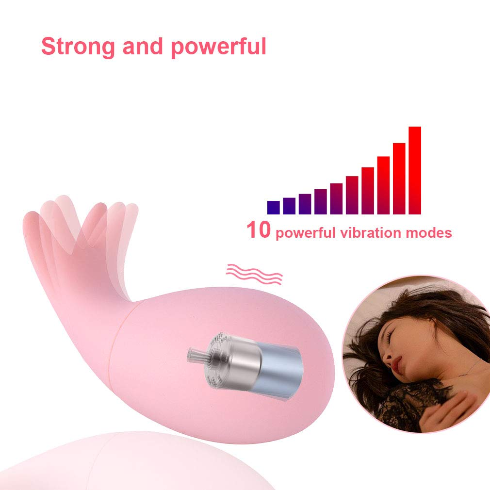 sweet124043 Super Weárable Vibrántor Mássger Ton-GUE Comfortable Toys Lick vibr(ador for Women t-shirt Wireless Remote USB Charged Relaxing Tool by sweet124043