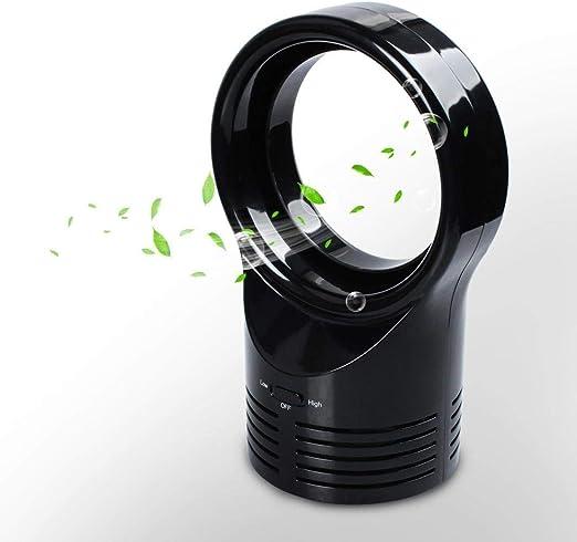 QYLJX Mini Ventilador sin Cuchillas para Dormir Enfriamiento ...