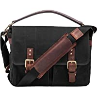 ONA - The Prince Street - Camera Messenger Bag - Black Waxed Canvas (ONA5-024BL)