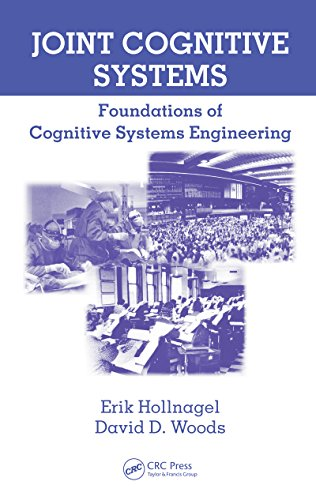 Joint Cognitive Systems: Foundations of Cognitive Systems Engineering Pdf