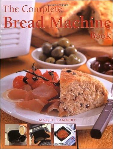 The Complete Bread Machine Book: Amazon.es: Marjie Lambert ...