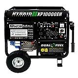 10000 watt portable generator - DuroMax 10000 Watt Hybrid Dual Fuel Portable Gas Propane Generator - RV Standby