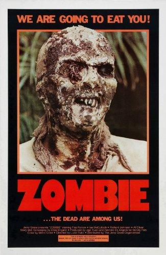 "Zombi 2  1979 Movie Poster 24""x36"""
