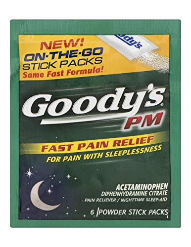 Goody's PM Powders | Pain Reliever +