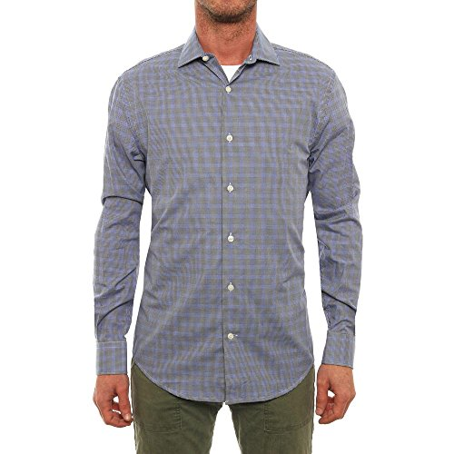 perry-ellis-long-sleeve-collared-neck-button-down-men-regular-us-l-blue-casual