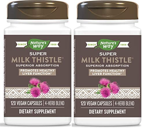 Nature's Way Enzymatic Therapy Super Milk Thistle