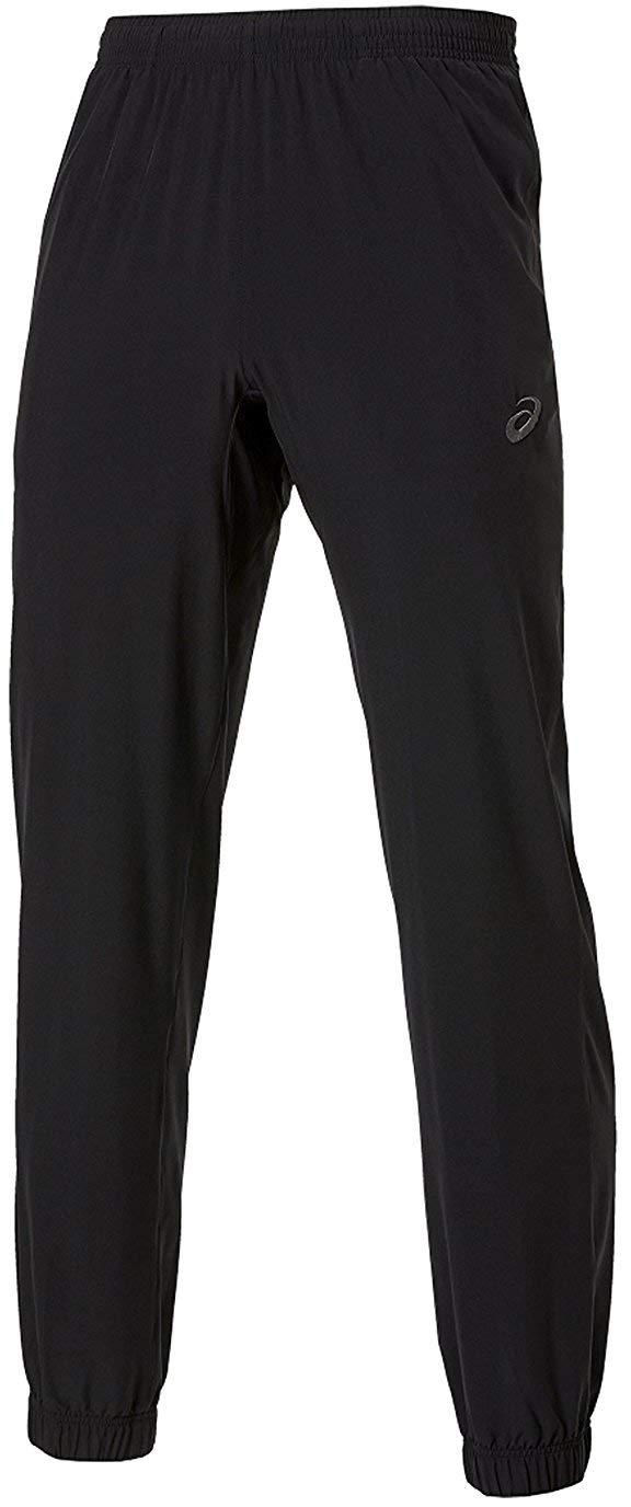 ASICS Pantalones de chándal para Hombre, Color Negro, Negro ...