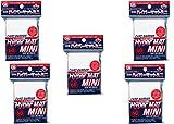 [White] KMC Card Barrier Hyper Mat Mini Sleeves 60pcs × 5 Sets (5 Packs/total 300 Sheets) From Japan