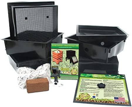 Amazon.com: Worm Factory 3 - Charola de abono para gusanos ...