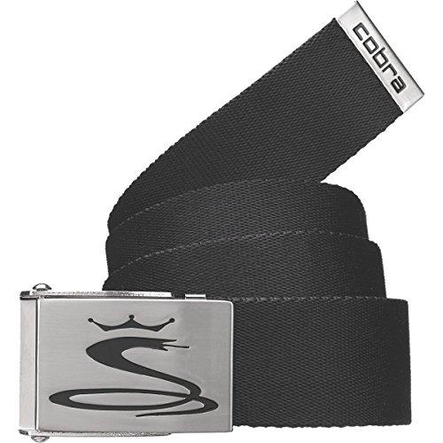 湿度盟主ペニーCobra/コブラ CBRA3004 WEB BELT ウェブベルト ブラック フリーサイズ カット調節可能