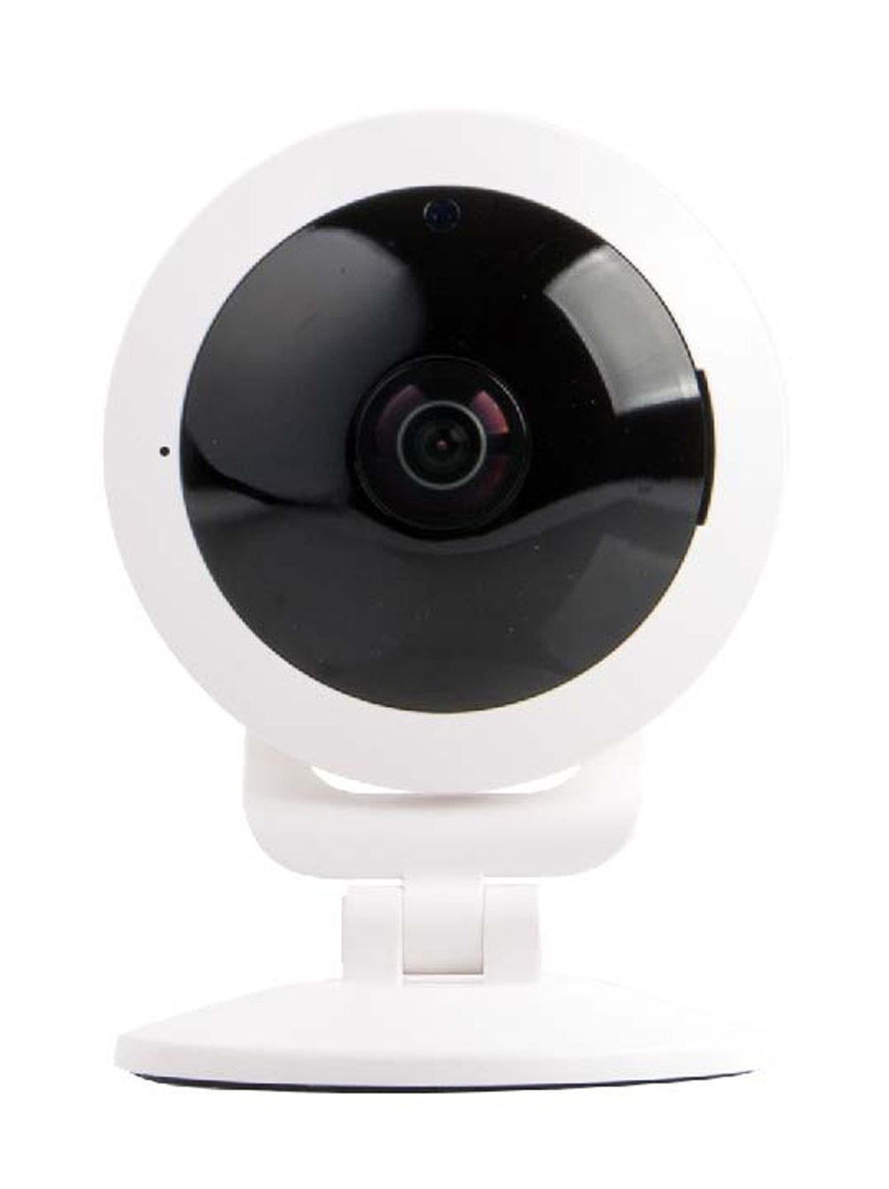 Vivitar IPC117-WHT 360 Wide Angle 1080p HD Wi-Fi Smart Home Camera with Motion Detection, Cloud Backup, Night Vision, Child and Pet Monitor, Two-Way Audio, iOS and Android App for Home Or Office Use by Vivitar