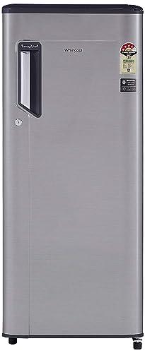 Whirlpool 215 L 4 Star   2019   Inverter Direct Cool Single Door Refrigerator  230 IMFR PRM 4S INV German STEEL, Grey  Refrigerators