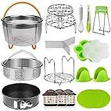 Best Instant Pots - Aiduy Pressure Cooker Accessories Set 18 Pieces Compatible Review