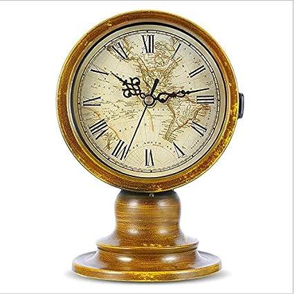 FUSHENG Reloj, Reloj Vintage De Hierro Forjado, Reloj Europeo, Reloj De Cuarzo,