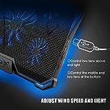 Wsky Laptop Cooler, Ultra Slim 12''-17'' inch