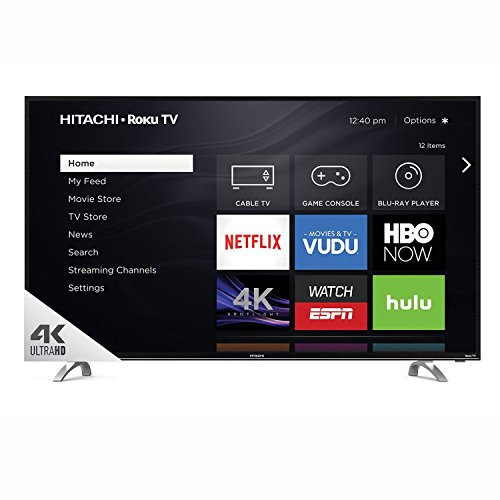 "Hitachi 43"" Class 4k HDR TV with Roku - 43R80"