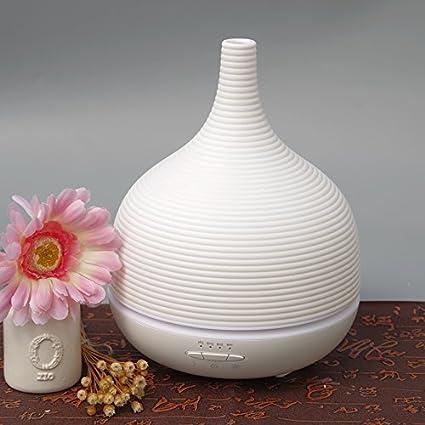 HaoLiao Estufa de aromaterapia ultrasónica, lámpara de Fragancia Plug-in, lámpara de Aceite