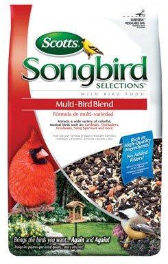 Multi-Bird Blend Bird Food Black Oil Sunflower 5 Lbs.