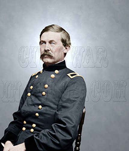 Brig. Gen. John Buford Chief of Cavalry, Army of The Potomac Color Photo