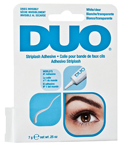DUO Strip Lash Adhesive Clear, for strip false eyelash 0.25 oz