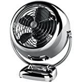 Vornado VFAN Jr. Vintage Air Circulator Fan, Chrome