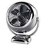 Vornado VFAN Jr. Vintage Air Circulator Fan, Chrome