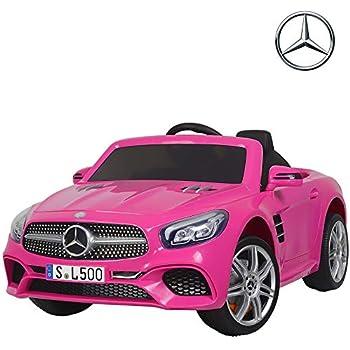 Amazon com: Carbon BLACK SLS AMG Mercedes Benz Car for Kids