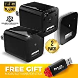 Hidden Spy Camera | 2 Pack | 1080P Full HD |Has Motion Detection