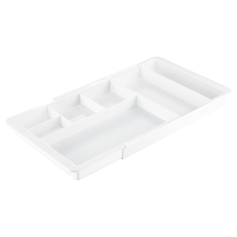 iDesign Clarity Expandable Drawer Organizer, White InterDesign 38281