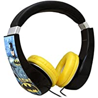 Sakar Kids Batman Kids Safe Friendly Headphones - Batman Kids Safe Friendly Headphones - Limiting V