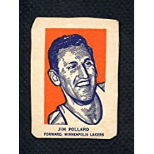 1952 Wheaties Jim Pollard Lakers Portrait EX 285988 Kit Young Cards