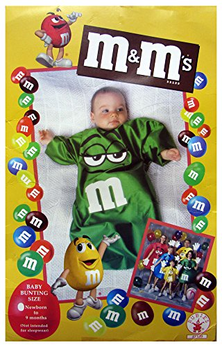 M&M Bunting Costume Color: Blue