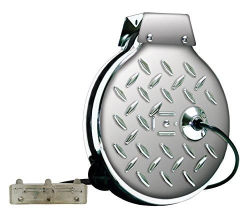 Cliplight 222308 Chrome Tri-Tap Diamond-Stamped Steel Cord - Light Hemitech