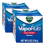 Vicks VapoRub Original Cough Suppressant, Topical