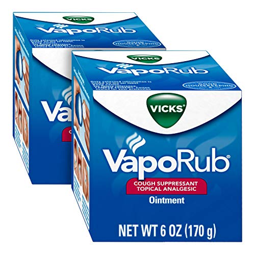 Vicks VapoRub, Chest Rub Ointment, Relief from