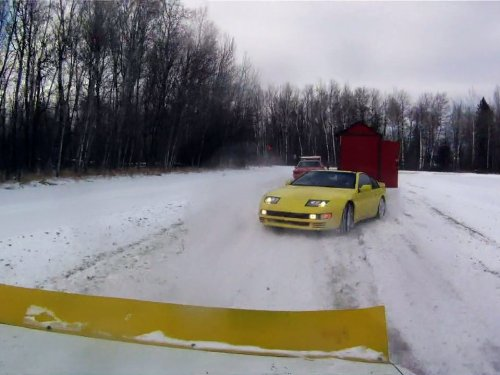 Minnesota Ice Driving
