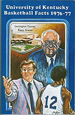 1976 Kentucky Basketball Media Guide bkbx5.1244