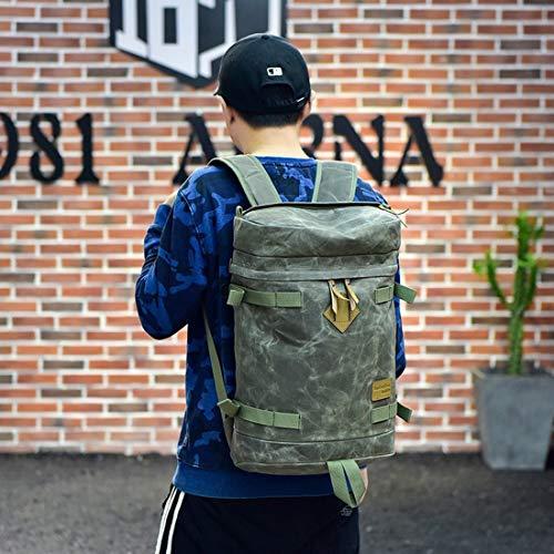 color Mochila Impermeable Para Lona Klerokoh Párrafo Libre Mochilas Viajes Al Corto Bolsa Camping Viaje Deporte Los Hombres A001 Aire A001 De wqUqO4Y