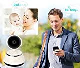 WensLTD Wireless Camera Baby Monitor WiFi IP Surveillance Camera, 720P PTZ easy to install p2p with APP for baby