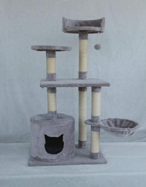 Kaxima Árbol para Gatos Fuentes del Animal doméstico Gato árbol 43 * 30 * 75 cm