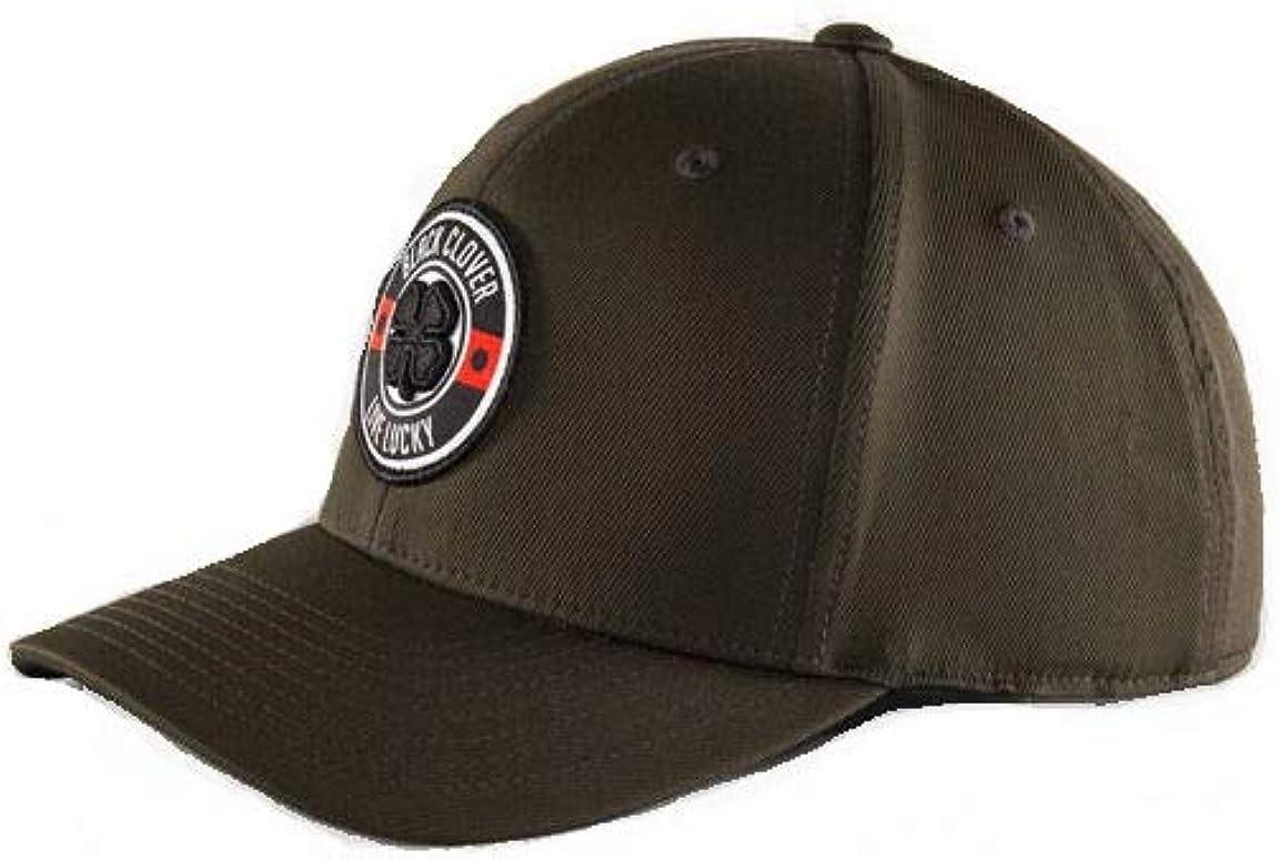 Black//Olive Black Clover High Roller 1 Adj Cap Woven Patch