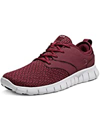 Tesla Men's Knit Pattern Sports Running Shoes L570