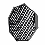 SUPON 120cm / 47 Portable Photo Octagon Honeycomb Grid for Studio/Strobe Umbrella Softbox Reflector (Only Grid ) (120cm Grid)
