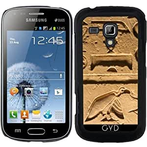 Funda para Samsung Galaxy S Duos S7562 - Hieroglyphs_2014_1004 by JAMFoto