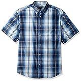#7: Gioberti Men's Plaid Short Sleeve Shirt